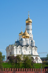 Ivan the Great Bell Tower in Moscow, Russia