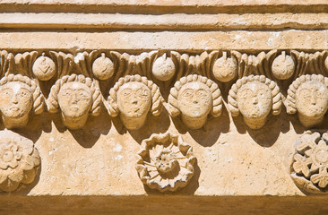 Cathedral of Matera. Basilicata. Italy.