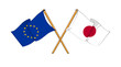 European Union and Japan alliance and friendship