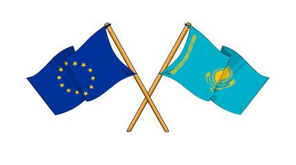European Union and Kazakhstan alliance and friendship