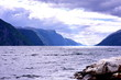 Fjord in Skandinavien