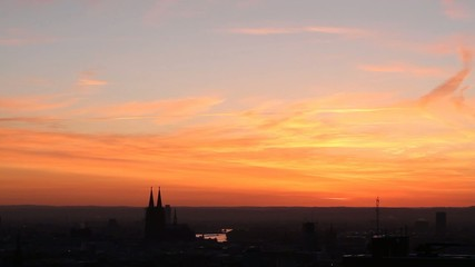 Cologne Sunrise