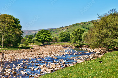 Scenic view of the River Swale