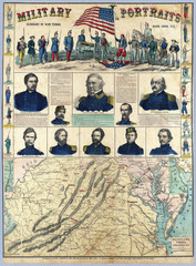 US Civil War map