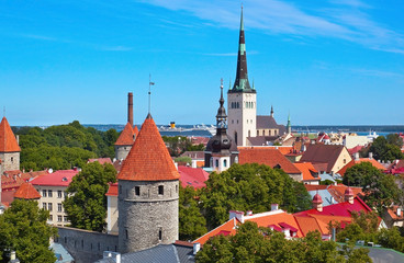 Tallinn old city, Estonia