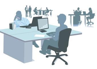Büro arbeitsplätze