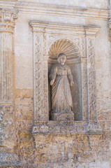 St. Chiara Church. Matera. Basilicata. Italy.