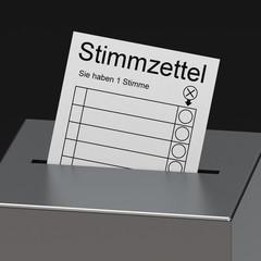 Der Stimmzettel