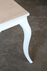 gamba di un tavolo