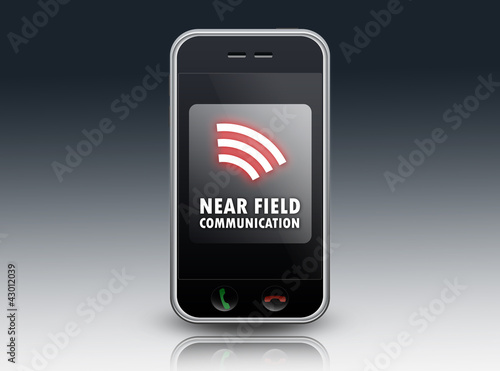 "Smartphone ""Near Field Communication"""