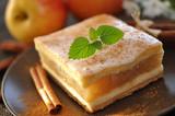 Fototapety Apfelkuchen, Minze