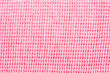 Close-up pink  fabric textile texture for background