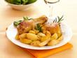 Coscia di pollo con patate