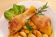 Coscia di pollo - close-up