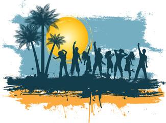 Grunge summer party