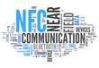 "Word Cloud ""Near Field Communication"""