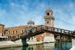 View of Arsenale in Venice