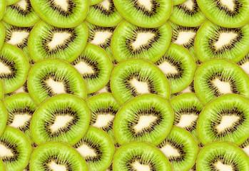 ripe green kiwi seamless texture