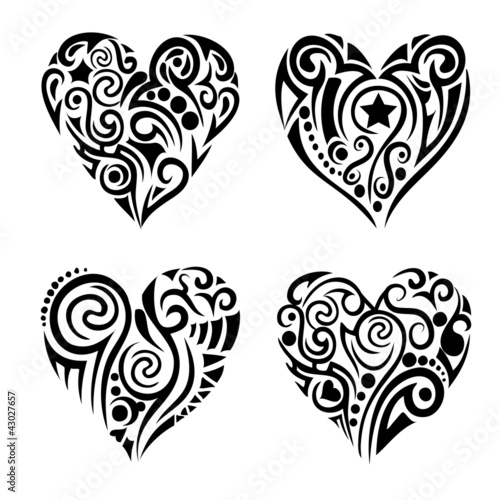 Tribel hearts