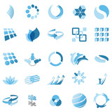Fototapety Business abstract icons
