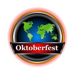 New sign Oktoberfest