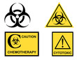 Biohazard Cytotoxic and Chemotherapy symbols