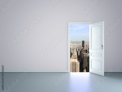 door to new york