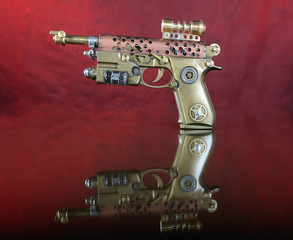 Steampunk Hand Cannon.