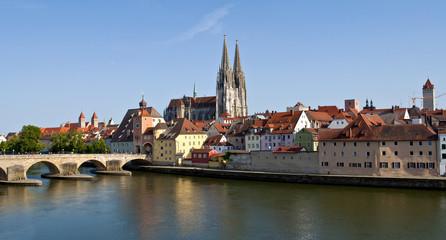 Panorama Regensburg