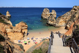 Beach at the Algarve Coast, Lagos Portugal