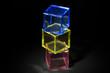 プラスチックの立方体