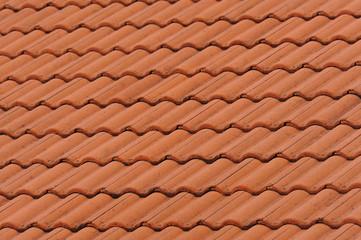 Red Old Tile Pattern