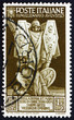 Postage stamp Italy 1937 Army Trophies