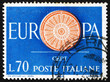 Postage stamp Italy 1960 19-Spoke wheel