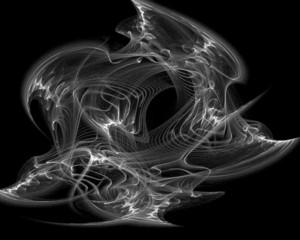 Abstract evil smoke