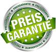 "Button Banner ""Preisgarantie"" grün/silber"