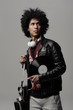 Music DJ portrait