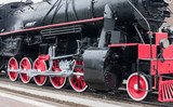 Steam train wheels. - 43043212