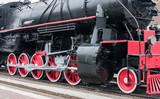 Steam train wheels. - 43043212