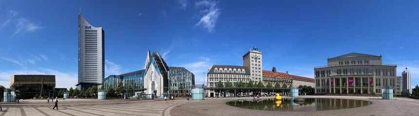 Leipzig City-Panorama