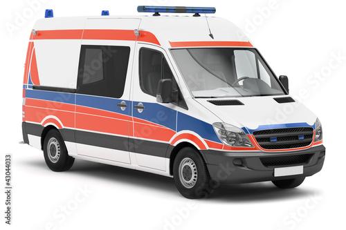 Rettungswagen - 43044033
