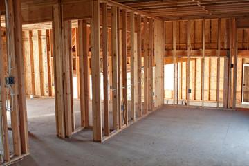 New Construction Framing Interior