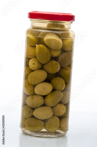 Pickled Olive Jar