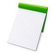Bloc-notes (vert)