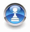 """Pawn glossy icon"" (Chess collection: 2/7)"