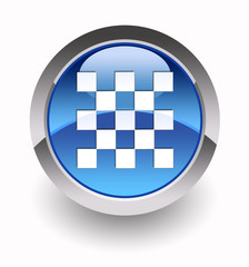 """Chessboard glossy icon"" (Chess collection: 1/7)"