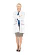attractive female doctor