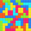 Multicolored blocks seamless pattern. Vector illustration.
