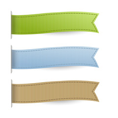 Pastel Web Ribbons Set