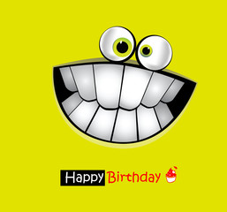 Happy Birthday Card smile